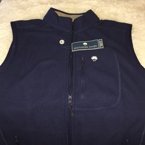 The Southern Shirt Company Jackets & Coats - SSCO Southern Shirt Vest Navy Blue NWT